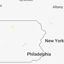 Regional Hail Map for Scranton, PA - Monday, July 16, 2018