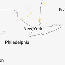 Regional Hail Map for Brooklyn, NY - Tuesday, July 17, 2018