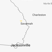 Hail Map for savannah-ga 2018-07-17