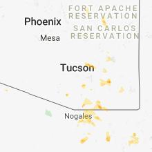 Hail Map for tucson-az 2018-07-20