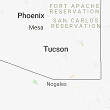 Hail Map for tucson-az 2018-07-21