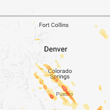 Hail Map for denver-co 2018-07-23