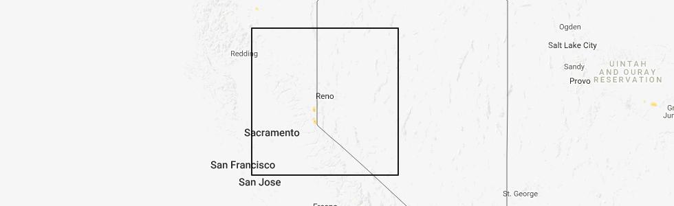 Interactive Hail Maps - Hail Map for Tahoma, CA on