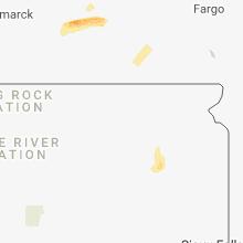 Hail Map for aberdeen-sd 2018-07-24