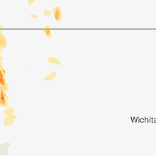 Regional Hail Map for Hays, KS - Thursday, July 26, 2018