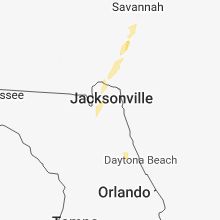 Regional Hail Map for Jacksonville, FL - Friday, July 27, 2018
