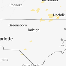 Hail Map for raleigh-nc 2018-07-27