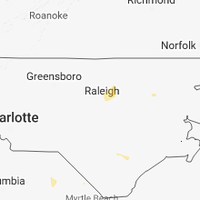 Hail Map for raleigh-nc 2018-07-28