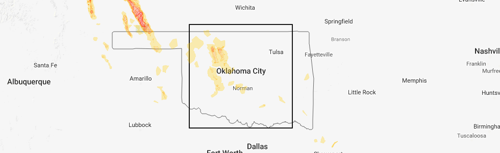 Interactive Hail Maps Hail Map For Noble Ok