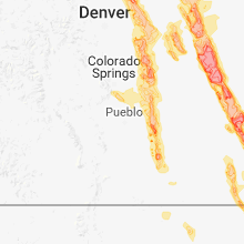 Hail Map for pueblo-co 2018-07-29