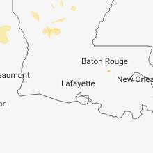 Hail Map for lafayette-la 2018-07-30