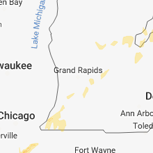 Hail Map for grand-rapids-mi 2018-08-02
