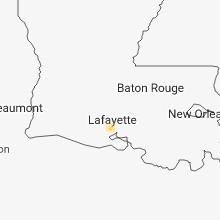 Hail Map for lafayette-la 2018-08-02
