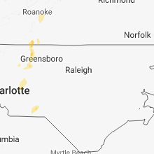 Hail Map for raleigh-nc 2018-08-02