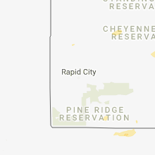 Regional Hail Map for Rapid City, SD - Saturday, August 4, 2018
