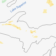 Hail Map for marquette-mi 2018-08-05