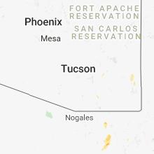 Hail Map for tucson-az 2018-08-05