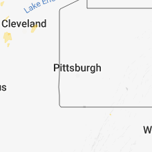 Regional Hail Map for Pittsburgh, PA - Monday, August 6, 2018