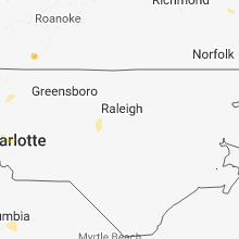 Hail Map for raleigh-nc 2018-08-06