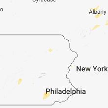 Regional Hail Map for Scranton, PA - Tuesday, August 7, 2018