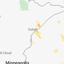 Hail Map for duluth-mn 2018-08-08