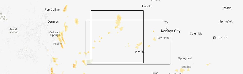 Alton Kansas Map.Interactive Hail Maps Hail Map For Alton Ks