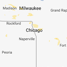 Hail Map for chicago-il 2018-08-09