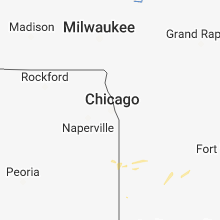 Hail Map for chicago-il 2018-08-10