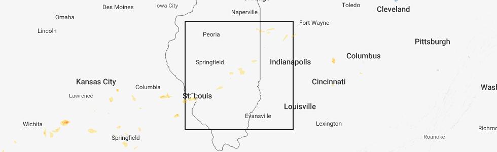 Interactive Hail Maps Hail Map For Arcola Il