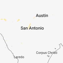 Regional Hail Map for San Antonio, TX - Friday, August 10, 2018