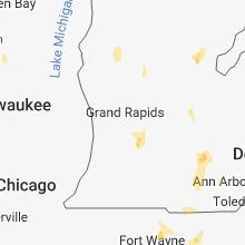 Hail Map for grand-rapids-mi 2018-08-11