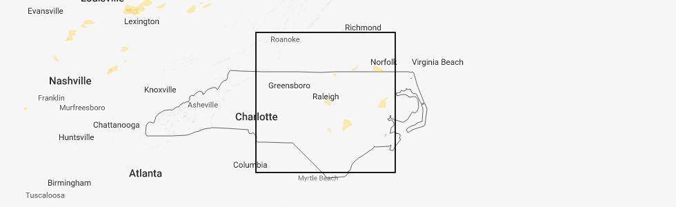 Interactive Hail Maps - Hail Map for Raleigh, NC