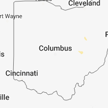 Regional Hail Map for Columbus, OH - Sunday, August 12, 2018