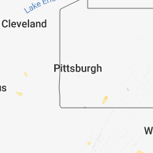 Regional Hail Map for Pittsburgh, PA - Sunday, August 12, 2018
