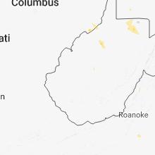 Regional Hail Map for Charleston, WV - Monday, August 13, 2018