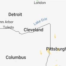 Hail Map for cleveland-oh 2018-08-13