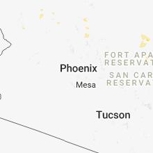 Regional Hail Map for Phoenix, AZ - Monday, August 13, 2018