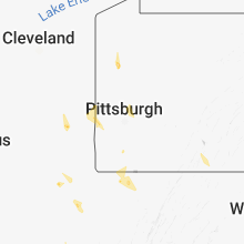 Regional Hail Map for Pittsburgh, PA - Monday, August 13, 2018