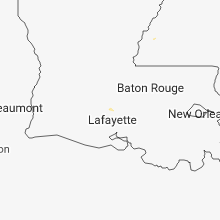 Regional Hail Map for Lafayette, LA - Friday, August 17, 2018