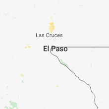 Regional Hail Map for El Paso, TX - Monday, August 20, 2018
