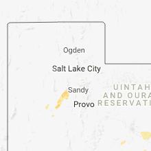 Regional Hail Map for Salt Lake City, UT - Tuesday, August 21, 2018