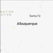 Hail Map for albuquerque-nm 2018-08-22