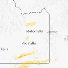 Hail Map for idaho-falls-id 2018-08-22