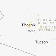 Regional Hail Map for Phoenix, AZ - Thursday, August 23, 2018