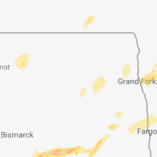 Regional Hail Map for Devils Lake, ND - Sunday, August 26, 2018