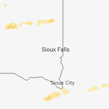 Regional Hail Map for Sioux Falls, SD - Sunday, August 26, 2018