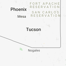 Regional Hail Map for Tucson, AZ - Sunday, August 26, 2018