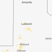 Regional Hail Map for Lubbock, TX - Monday, August 27, 2018