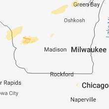 Hail Map for madison-wi 2018-08-27