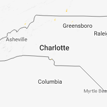Regional Hail Map for Charlotte, NC - Friday, August 31, 2018